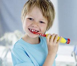 spazzolino elettrico per i piu piccoli